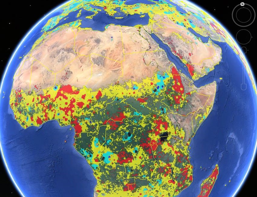 Asking the swarm for land use intelligence crowd sourced maps show a new global cropland map combines multiple satellite data sources reconciled using crowdsourced accuracy checks to provide an improved record of total gumiabroncs Choice Image